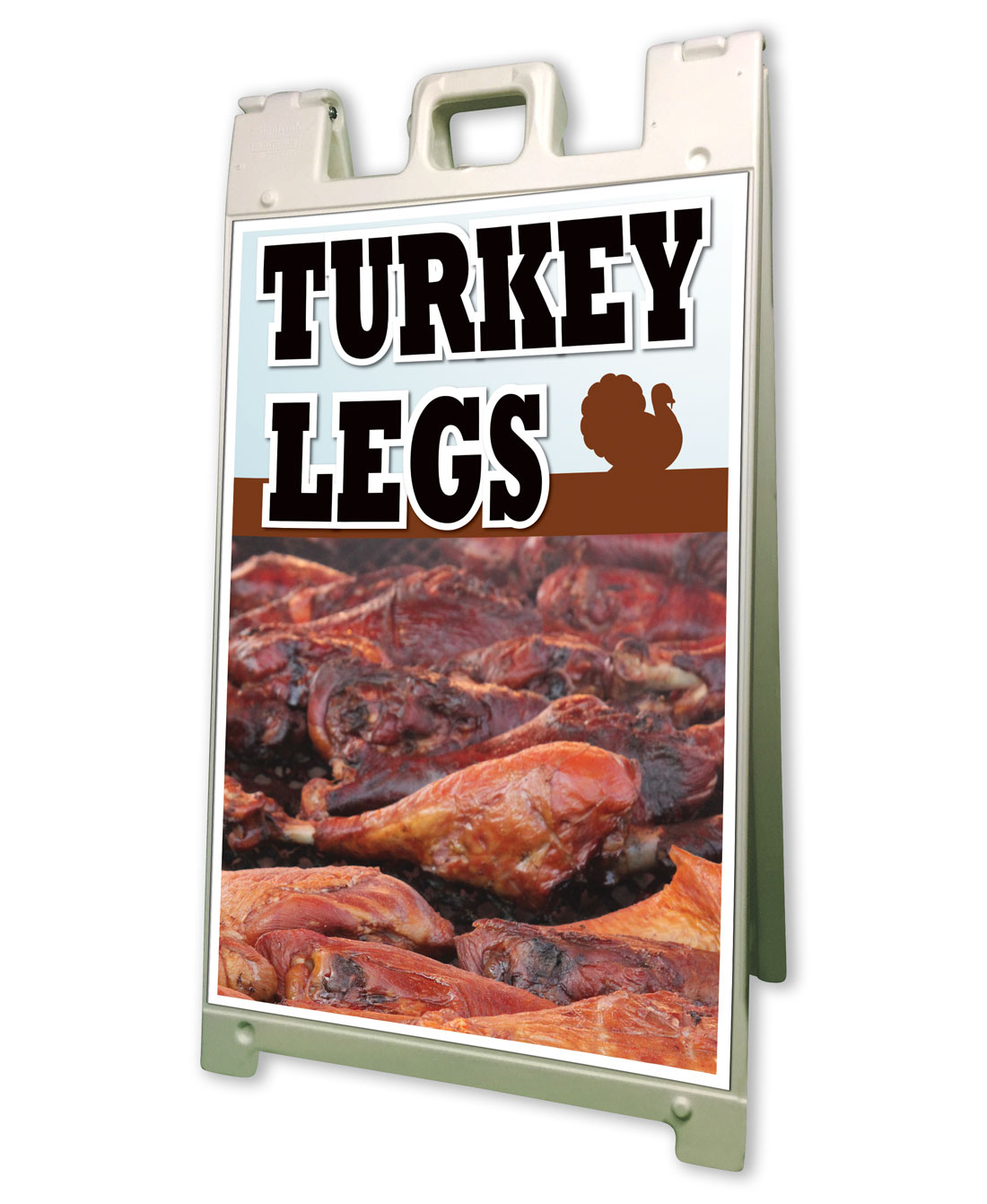 Turkey Legs Sidewalk A Frame 24x36 Concession Stand Outdoor