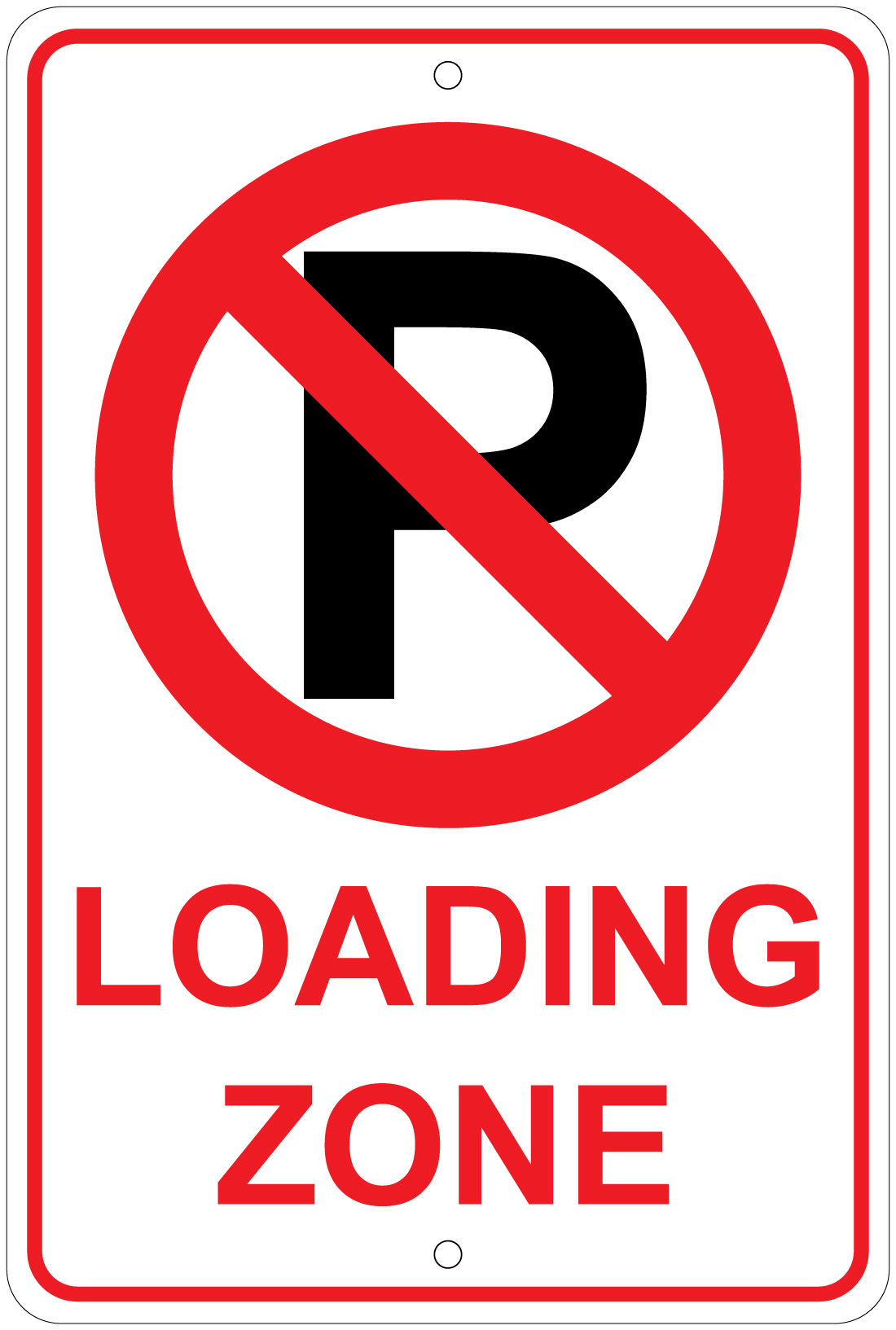 """No Parking Any Time New Aluminum Sign 8/"""" x 12/"""" With Double Arrow No Rust"""